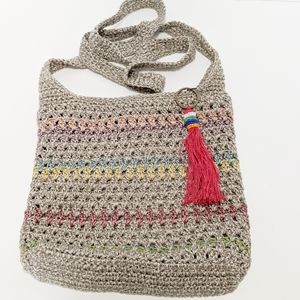 The Sak knitted crossbody purse